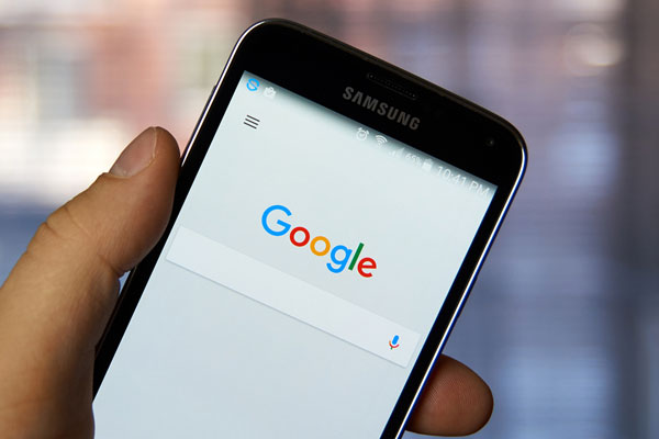 google search on mobile