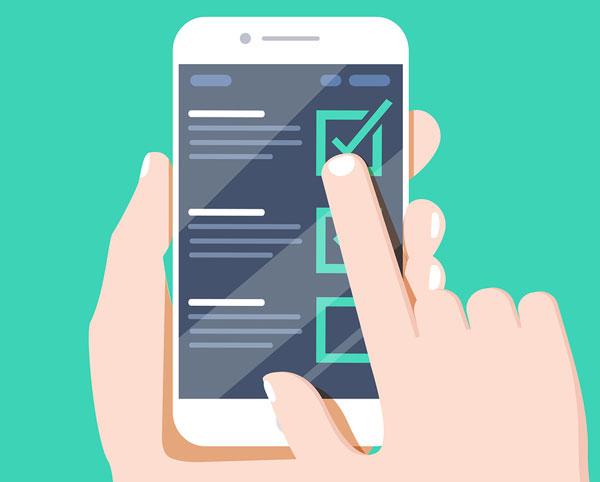 links on mobile optimised site